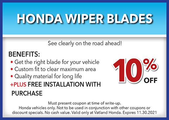Honda Wiper Blades