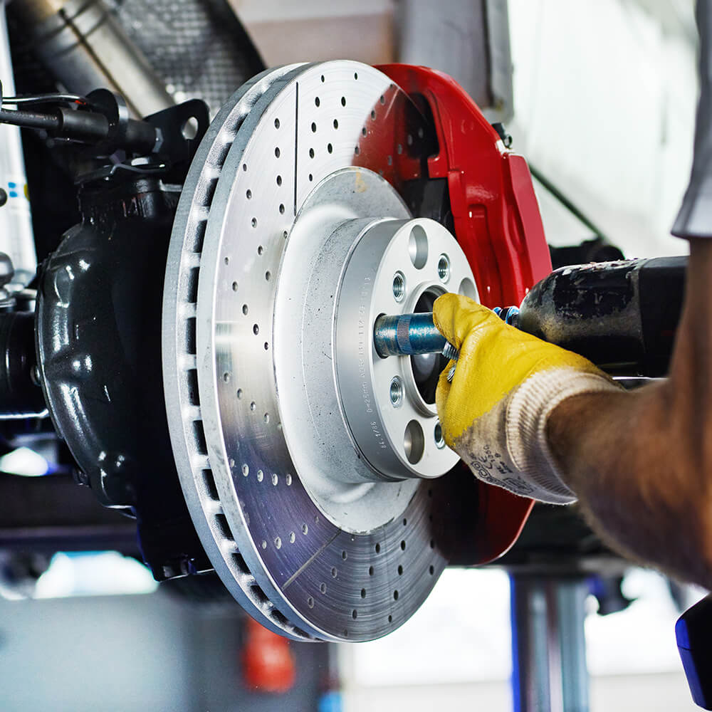 4 Wheel Alignment & Brake Check