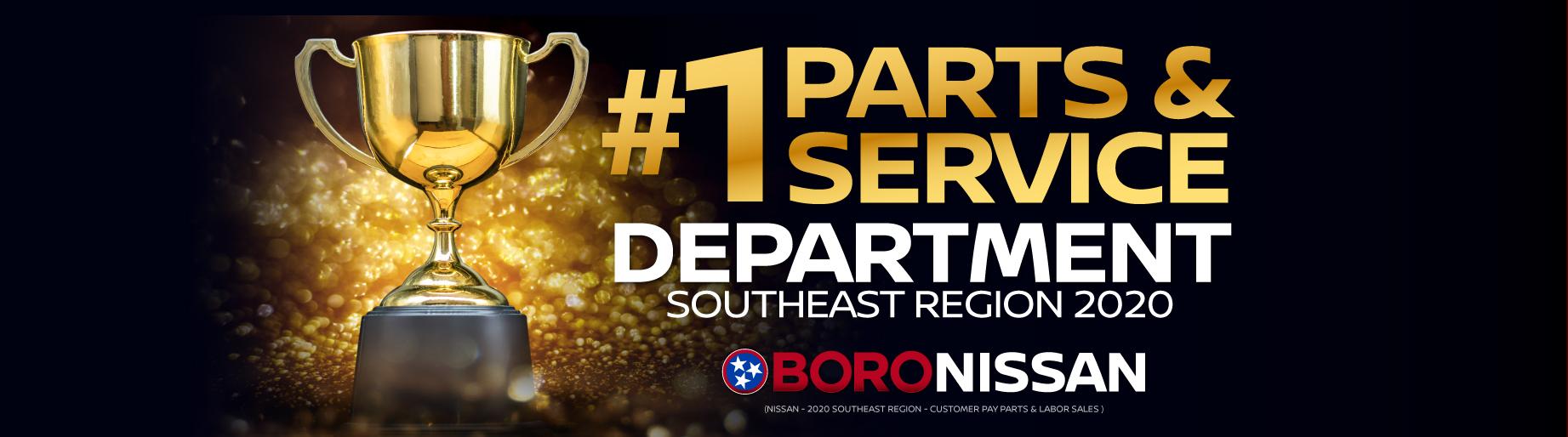 #1 Parts & Service Department