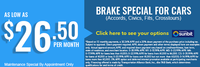 Brake Special For Cars