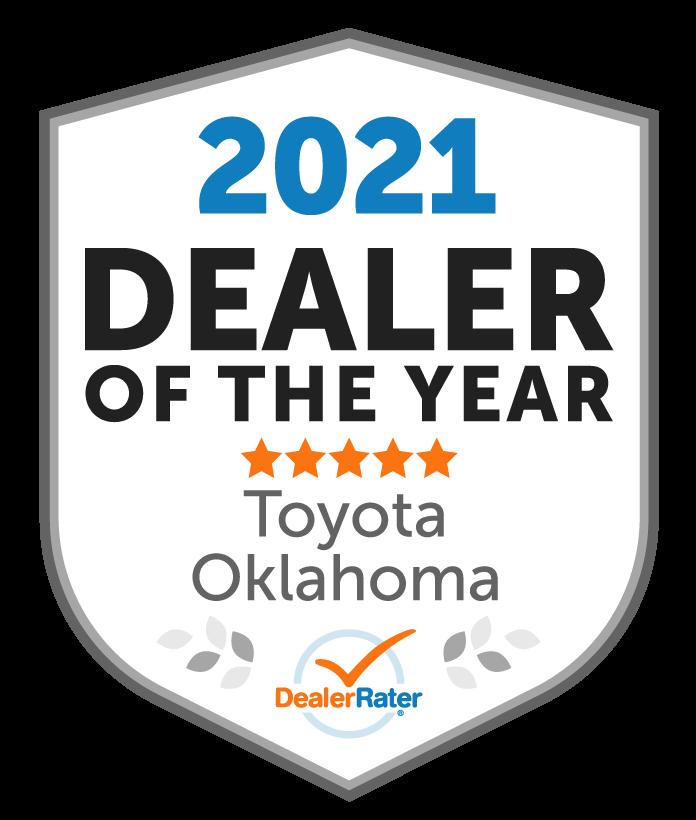 2021 Dealer Rater Award