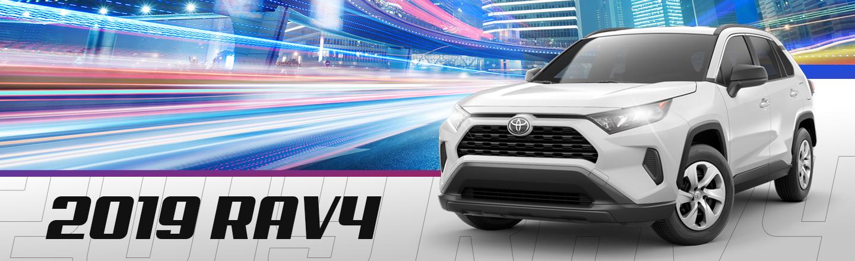 Opt For A 2019 Toyota RAV4 From Our Houma, LA Dealer Near Thibodaux