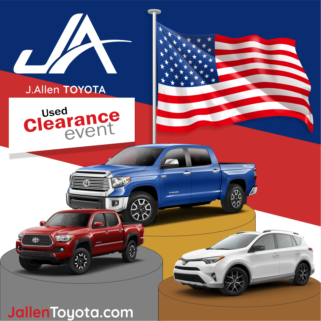 Used Car Clearance Event