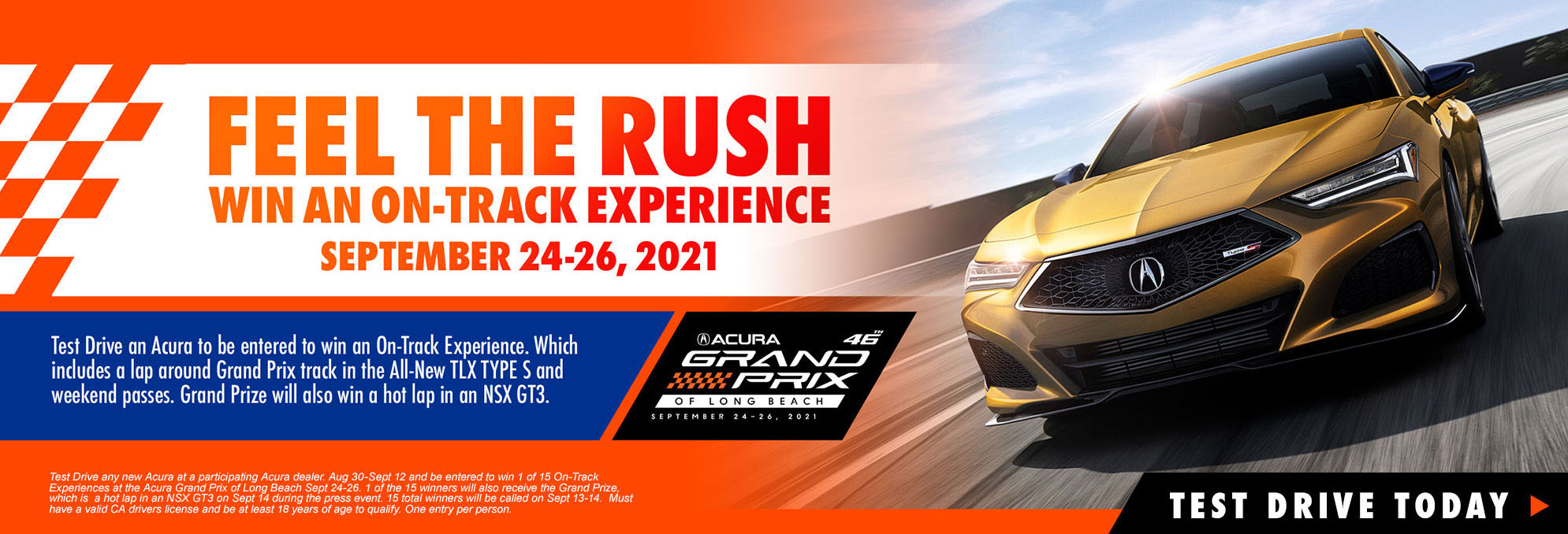 Win an on track experience