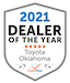 dealer rater 2021 award