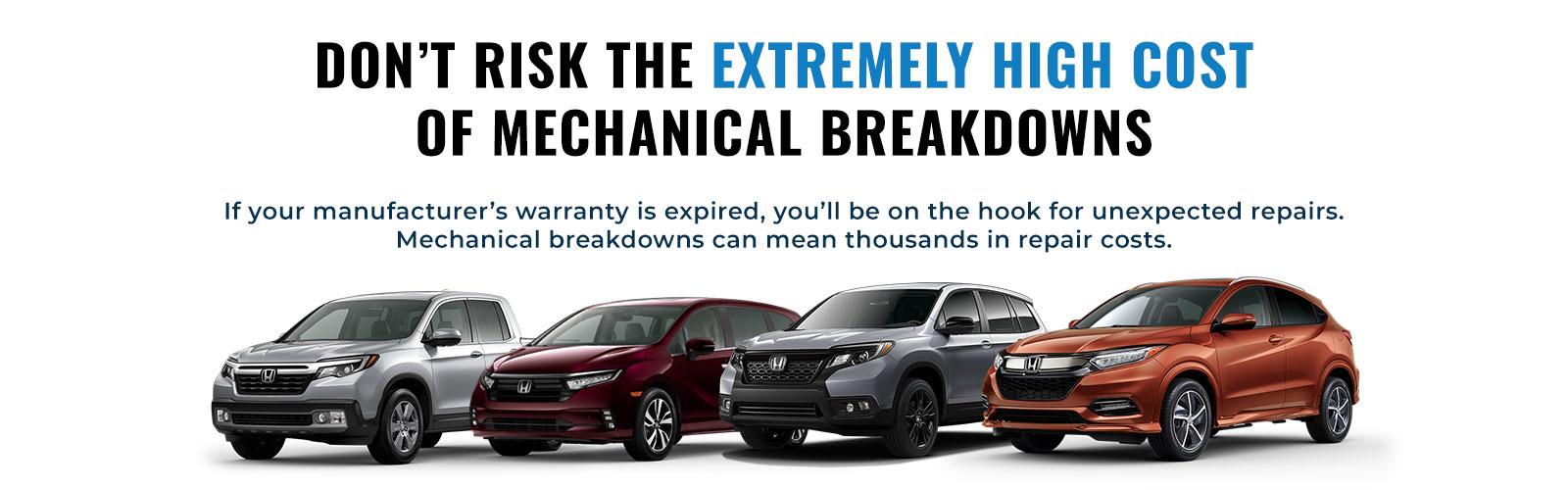 mechanical breakdowns