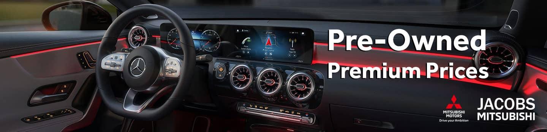 Premium Pre-own Prices at Jacobs Mitsubishi
