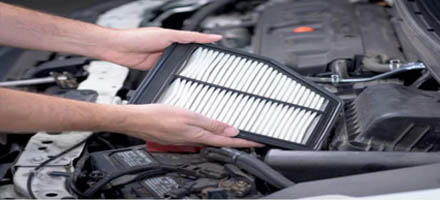 ENGINE AIR AND CABIN FILTER REPLACEMENT