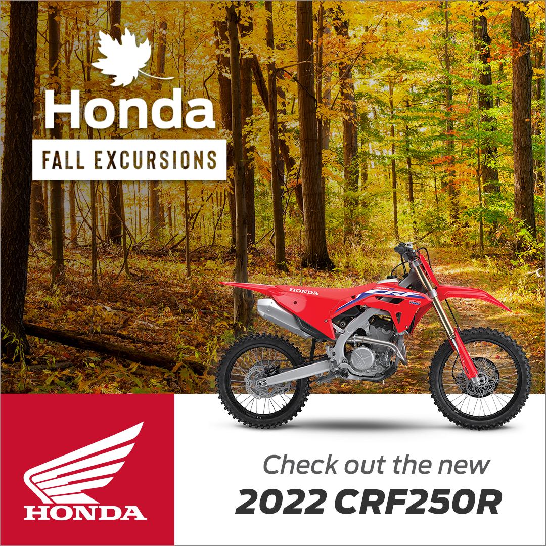Honda - Fall Excursions - 2022 CRF250R