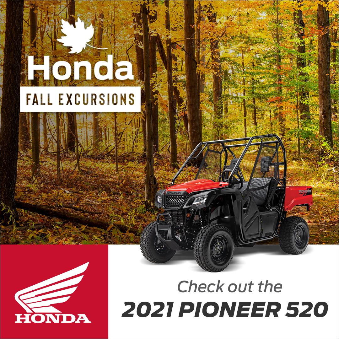 Honda - Fall Excursions - 2021 PIONEER 520