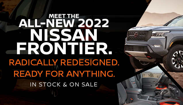 2022 Nissan Frontier In Stock and On Sale