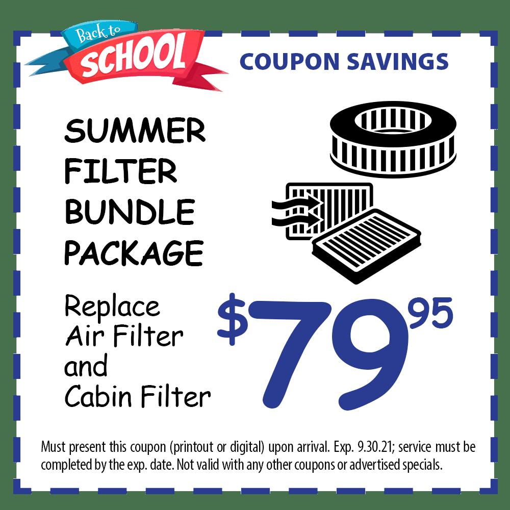 Summer Filter  Bundle Package