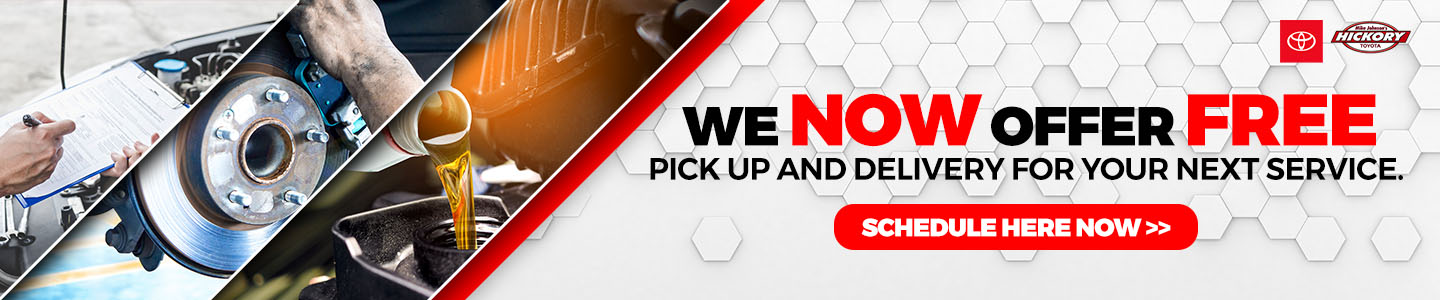 We Now Offer Free pick up and delivery for your next service