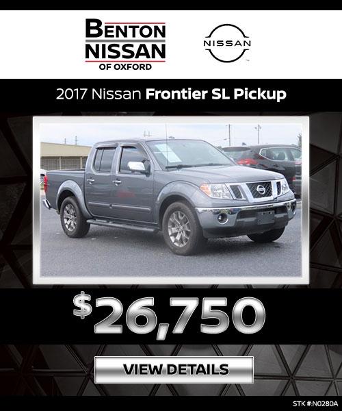 2017 Nissan Frontier SL Pickup