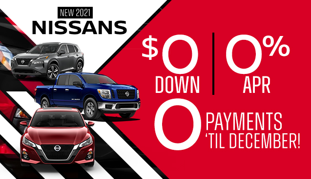 New 2021 Nissans