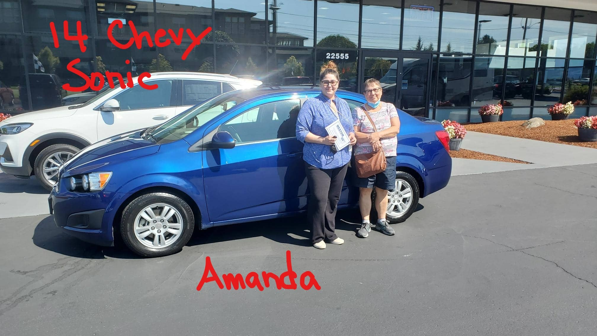 14 Chevy Sonic Amanda