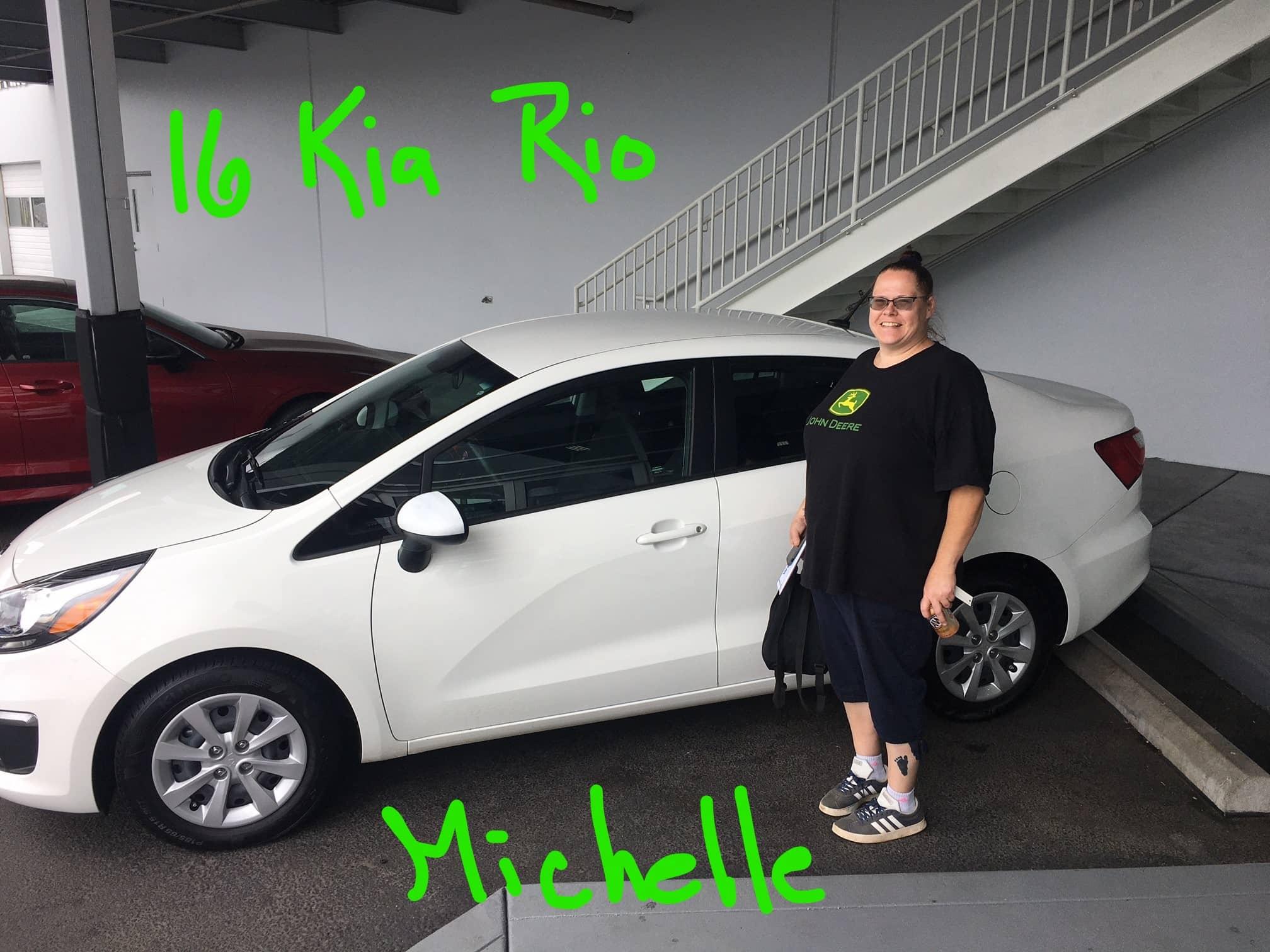 16 Kia Rio Michelle