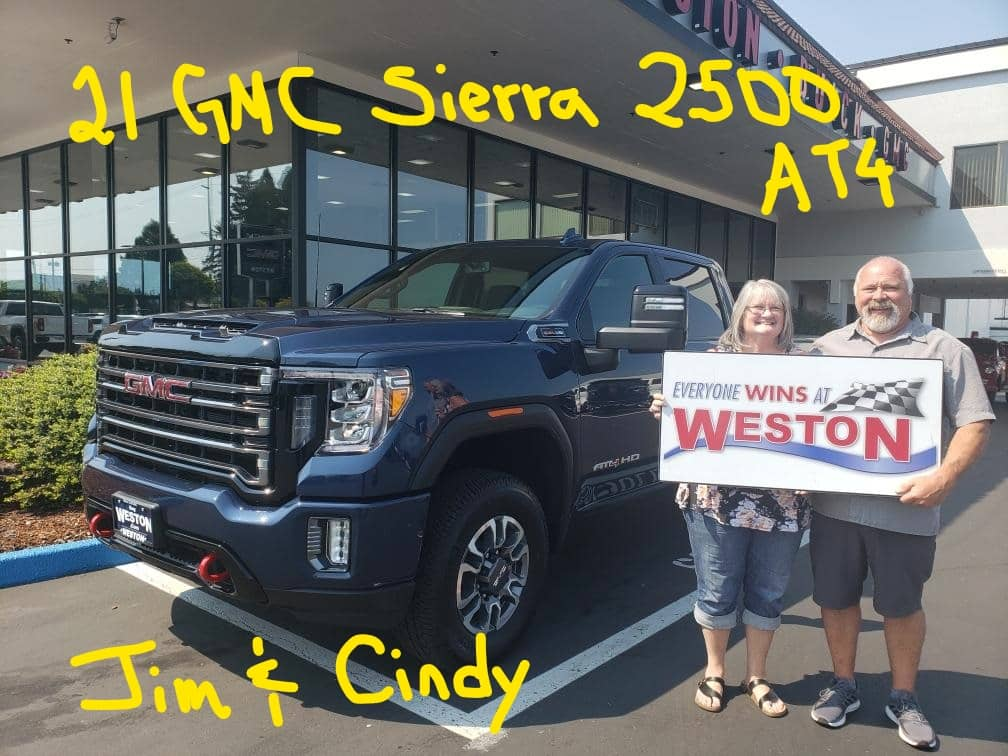 21 HMC Sierra 2500 AT4 Jim & Cindy