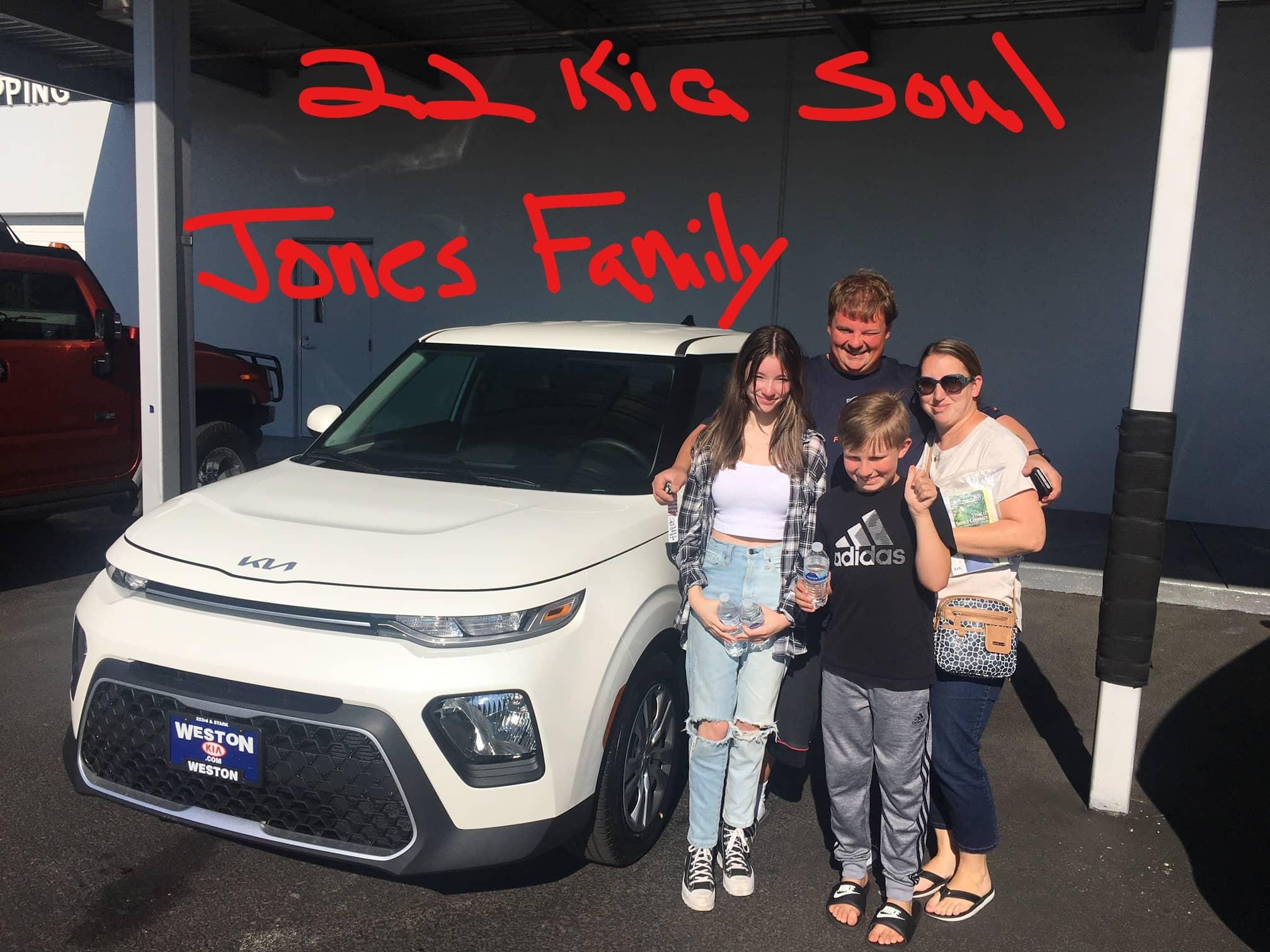 22 Kia Soul Jones Family
