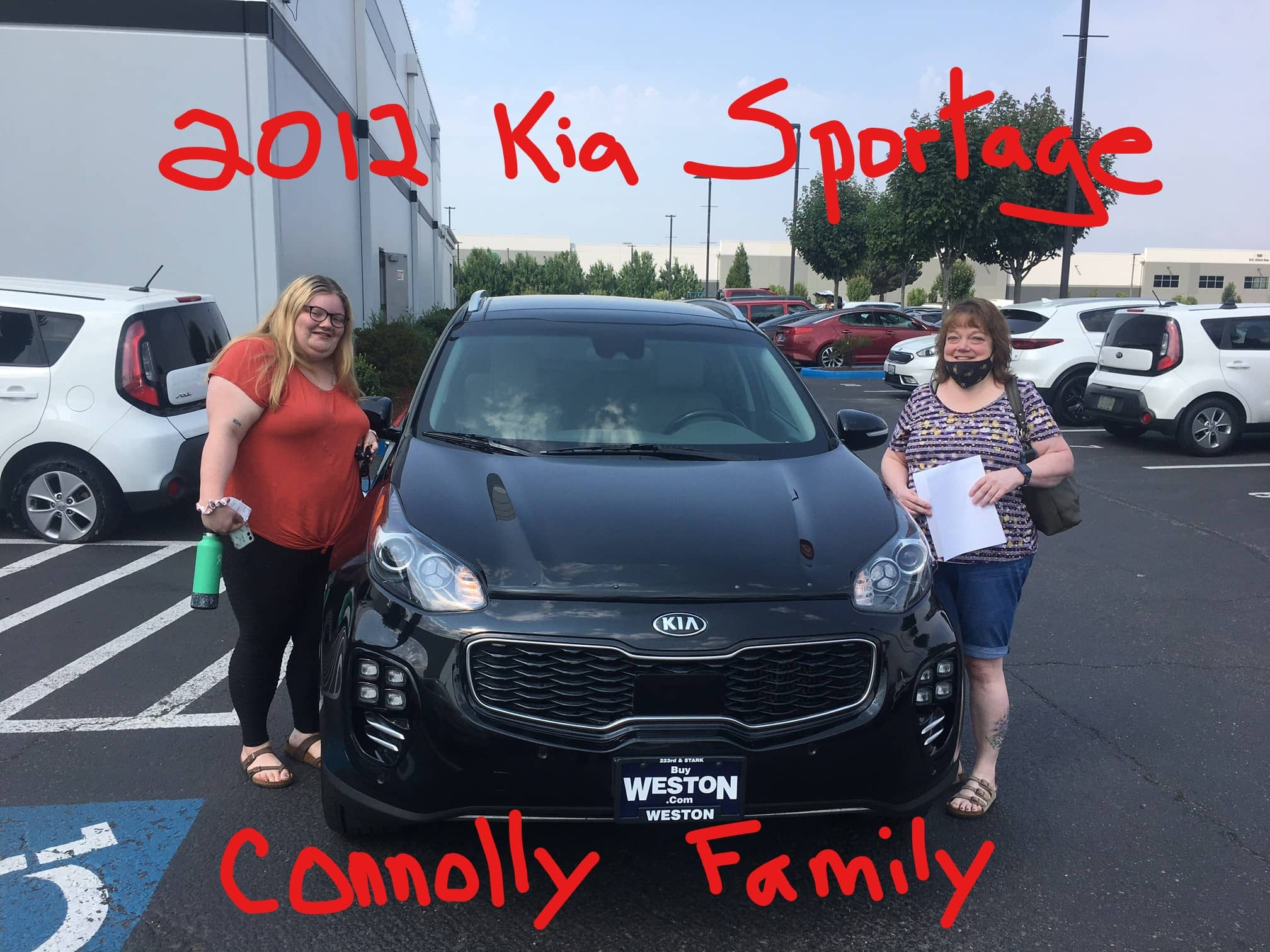 2012 Kia Sportage Connolly Family