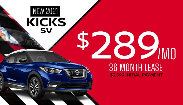 New 2021 Nissan Kicks