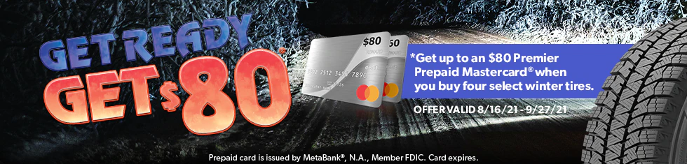 Get Up to an $80 Prepaid Mastercard