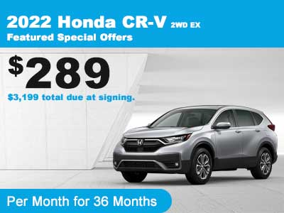 CR-V 2WD Lease
