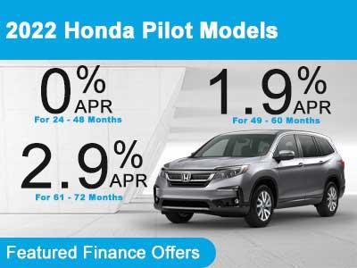 2022 Honda Pilot Models