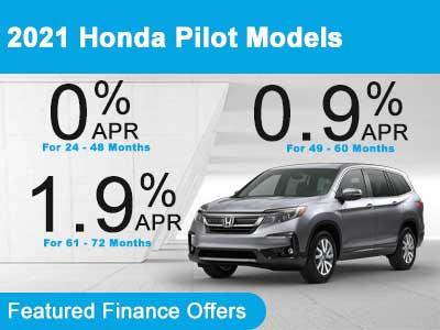 2021 Honda Pilot Models