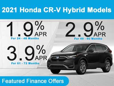 2021 Honda CR-V Hybrid Models