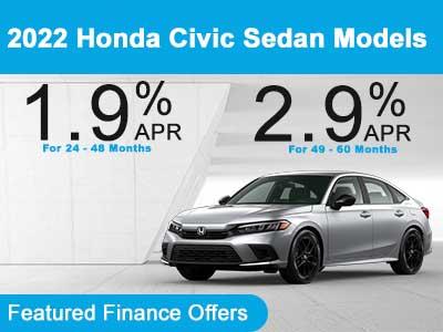 2022 Honda Civic Sedan Models