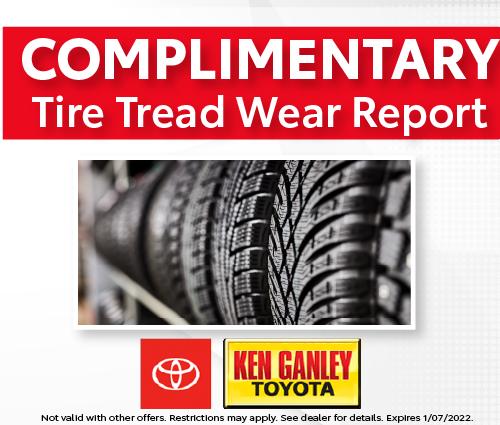 Tire Tread Wear Report