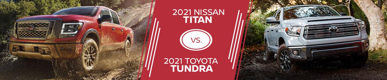 Nissan Titan and Toyota Tundra Comparison