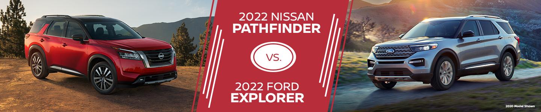 2022 Ford Explorer vs. 2022 Nissan Pathfinder