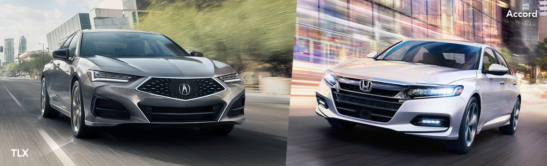Compare The 2021 Acura TLX Vs. The 2021 Honda Accord Near Philadelphia, PA