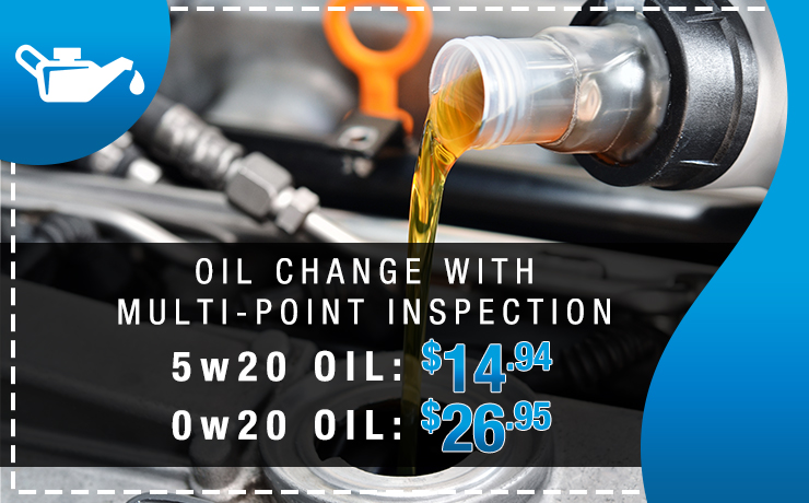 Oil Change with Multi-Point Inspection