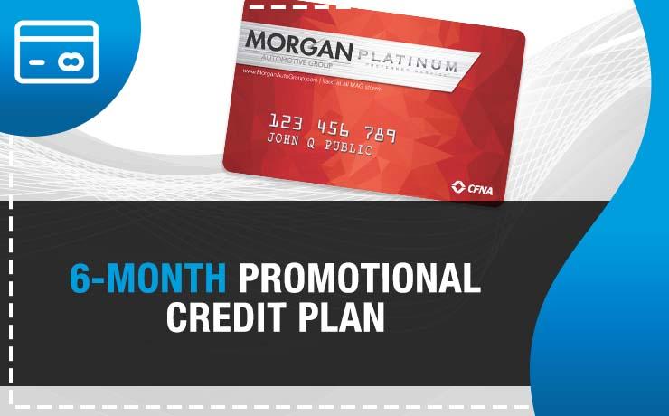 6-Month Promotional Credit Plan