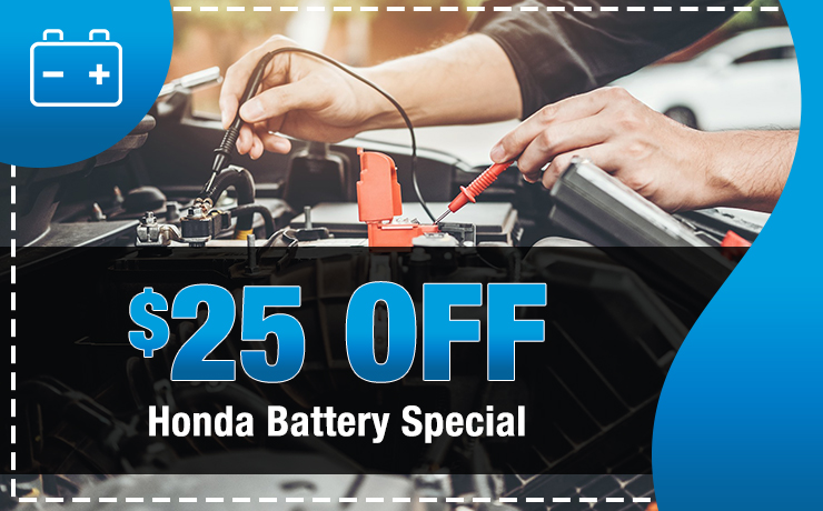 Honda Battery Special
