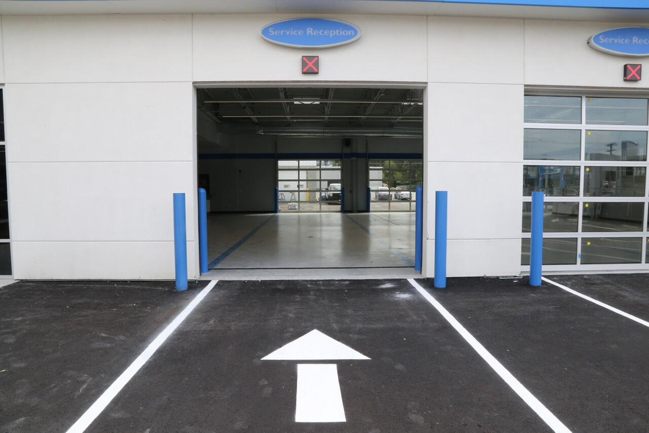 enter service center