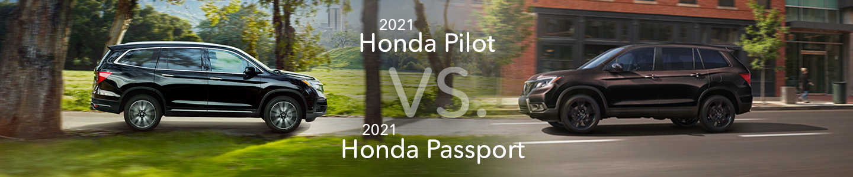 Honda Pilot vs. Passport