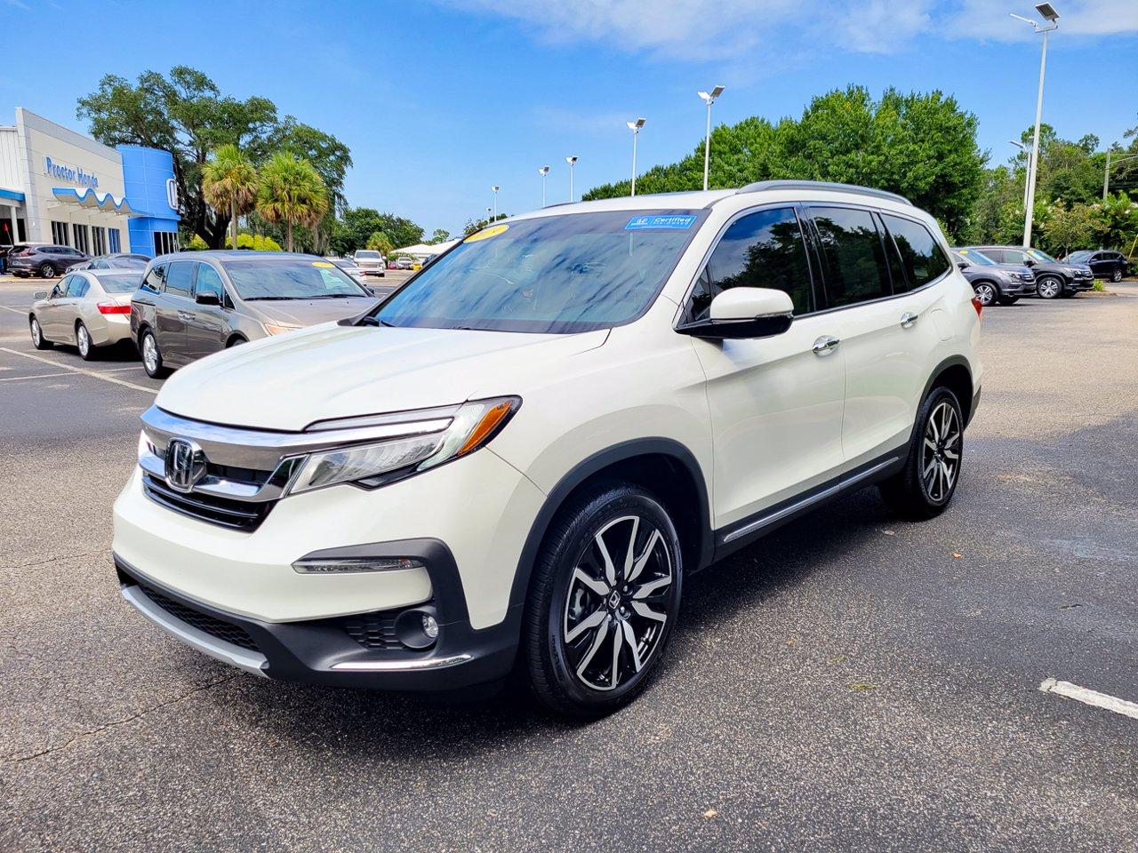 Certified 2019 Honda Pilot Elite AWD