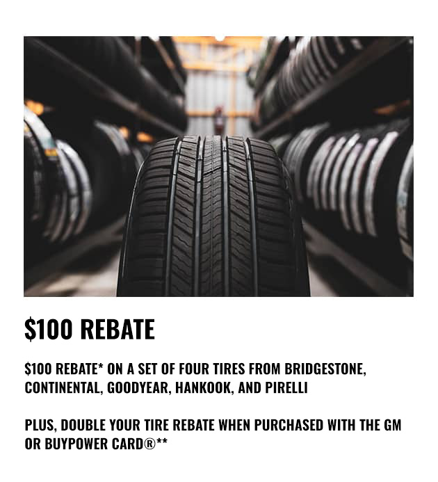 Tire Rebate