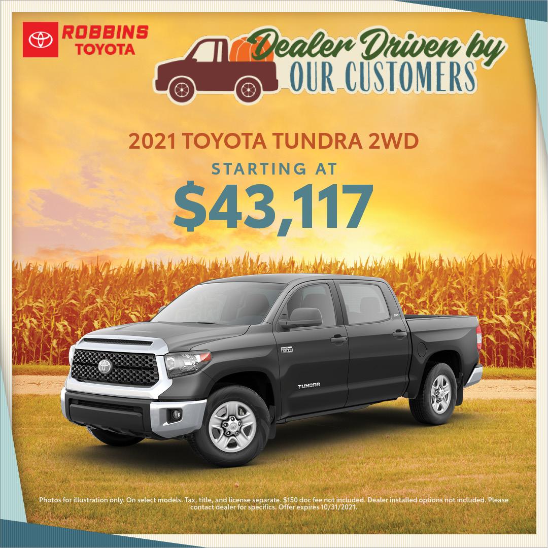 2021 Toyota Tundra   Nash, TX