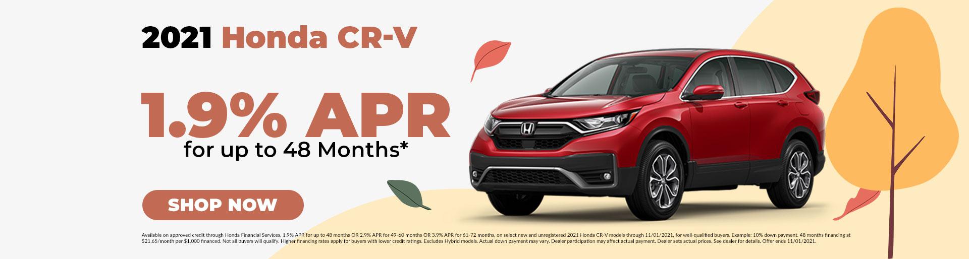 2021 Honda CR-V Offer in Jefferson City, MO
