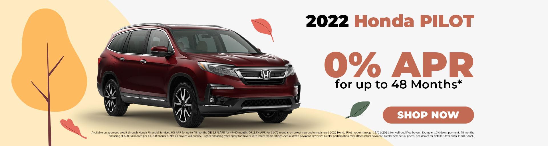 2022 Honda Pilot Offer in Jefferson City, MO