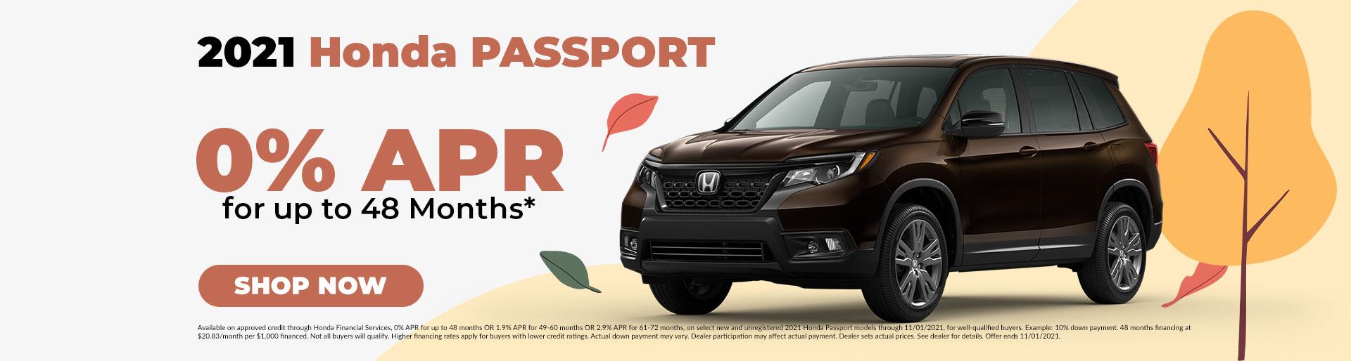 2021 Honda Passport Offer in Jefferson City, MO