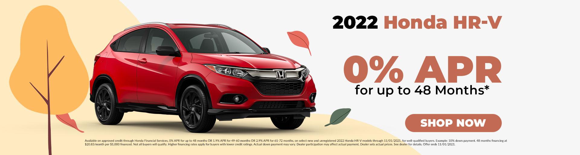 2022 Honda HR-V Offer in Jefferson City, MO