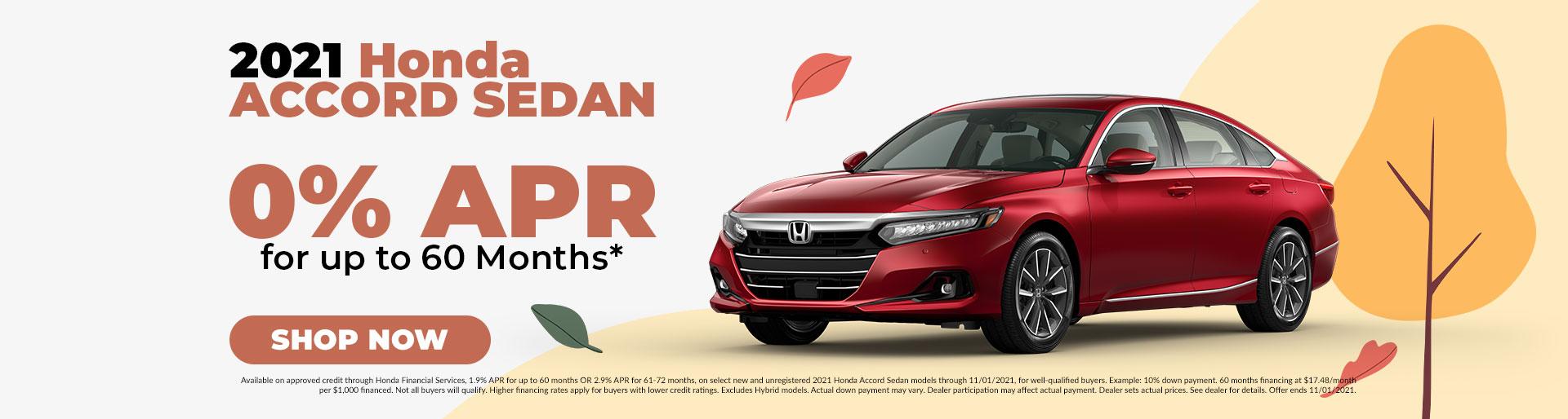2021 Honda Accord Sedan Offer in Jefferson City, MO