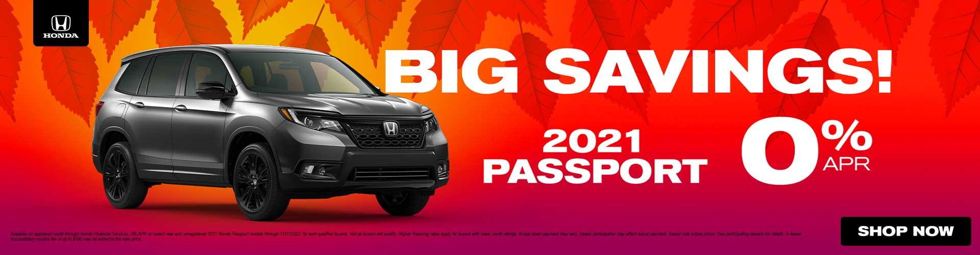 2021 Honda Passport Models