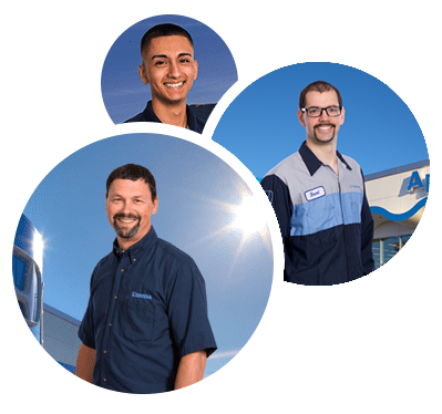 service and parts staff